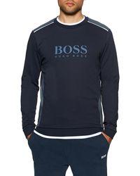 BOSS by HUGO BOSS Vêtement d'intérieur Tracksuit Sweatshirt - Bleu
