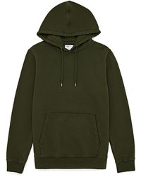 COLORFUL STANDARD Classic Organic Pullover Hoody - Green
