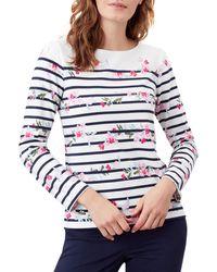 Joules Harbour Print Long Sleeve T-shirt - Multicolor
