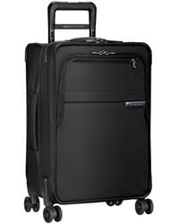 Briggs And Riley Domestic Carry-on Expandable Spinner Luggage - Black