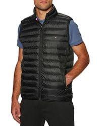 Tommy Hilfiger Chaufferette Corporelle Core Packable Circular Vest - Noir
