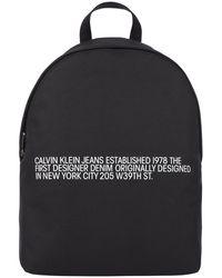 Calvin Klein Round Backpack - Black