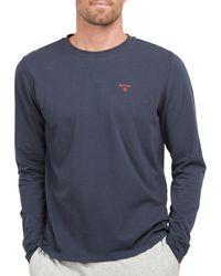 Barbour Sheldon Long Sleeved Loungewear Tops - Blue