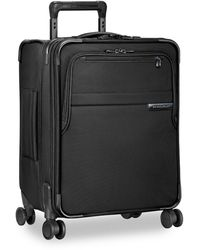 Briggs And Riley International Carry-on Expandable Wide-body Spinner Luggage - Black