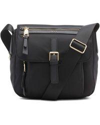 DKNY Cora Messenger Bag - Black