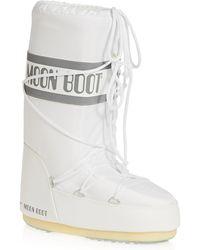 Moon Boot Nylon Boots - White