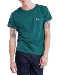 Maison Labiche Classic The Dude Short Sleeve T-shirt - Green