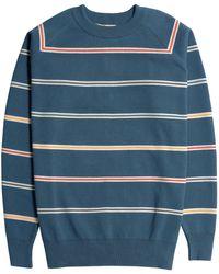 Far Afield Maglione Carrol Raglan Knit - Blu