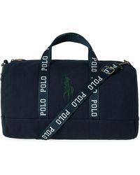 Polo Ralph Lauren Logo Duffle Bag - Blue