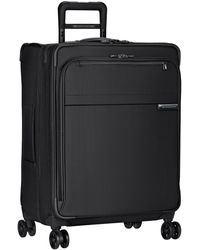 Briggs And Riley Medium Expandable Spinner Luggage - Black