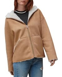 UGG Jody Faux Shearling Jacket - Brown