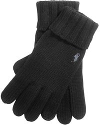 Polo Ralph Lauren Wool Handschuhe - Schwarz