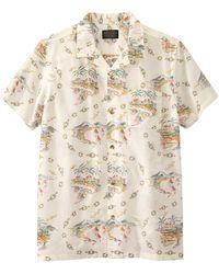 Pendleton T-Shirt a Manica Corta Aloha - Neutro