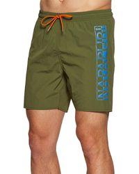 Napapijri Pantaloncini da Bagno Victor - Verde