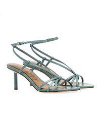 Sam Edelman Sandales Pippa Ankle Strap - Bleu