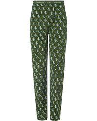 Calvin Klein Sleep Pant Loungewear Bottoms - Grün