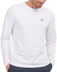 Barbour Sheldon Long Sleeved Loungewear Tops - White