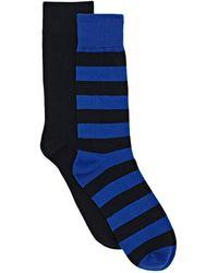 GANT Fashion Socks 2-Pack - Bleu