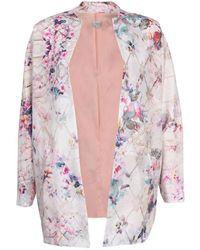 INTROPIA Floral Print Blazer - Multicolour