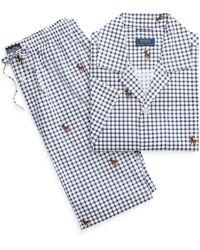 Polo Ralph Lauren Pyjamas Sleep Set - Bleu