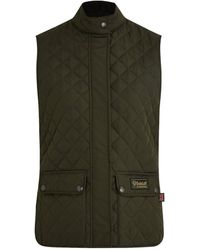 Belstaff Quilted Recycled Waistcoat - Green