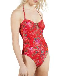 Ted Baker Yuliiaa Swimsuit - Red