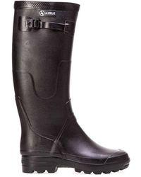 Aigle Benyl Wellington Boots - Black