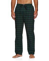 Polo Ralph Lauren Cotton Twill Pajama Pant Nachtwäsche - Grün