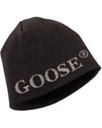 c04528964bd Canada Goose Men s Merino Logo Pom Hat in Black for Men - Lyst