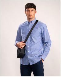 GANT The Broadcloth Regular Button Down Shirt - Blue