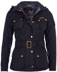 Barbour Ladies International Wax Jacket - Black