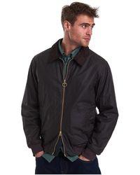 Barbour Advection Wax Jacket - Black