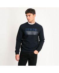 Armani Exchange Felpa - Blue