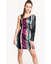 Armani Exchange Sequin Party Dress - Multicolour