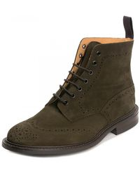 Tricker's Stow Earth Ox Reverse Suede Dainite - Multicolour
