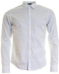 Scotch & Soda - Classic Longsleeve Mens Shirt - Lyst