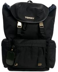 Tommy Hilfiger Womens Th On The Move Backp - Black