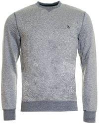 Original Penguin | Tri-colour Mouline Loopback Mens Sweatshirt | Lyst