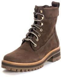 Timberland Courmayeur Valley Short Boot - Brown
