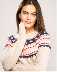 Joules Knitted Fairisle Jumper - Multicolour