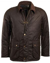 Barbour Strathyre Wax Mens Jacket - Green