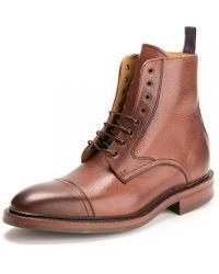 Barker Lambourn Ll Mens Shoe - Brown
