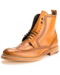 Barker Butcher Ll Mens Shoe - Multicolour