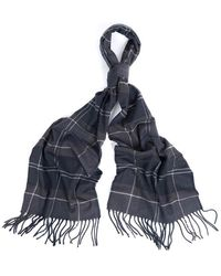 Barbour Galingale Unisex Scarf - Gray