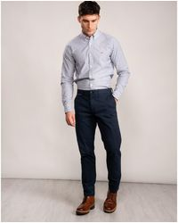 Tommy Hilfiger Tapered Chino Org St - Blue