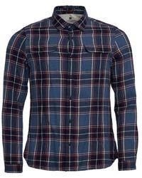Barbour Bill Mens Shirt - Blue