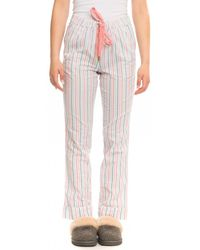 Joules Snooze Womens Woven Pyjama Bottoms A/w - Multicolour