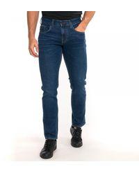 Tommy Hilfiger Straight Denton Pstr Jeans - Blue