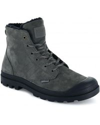 Palladium Pallabrousse Lth S - Gray
