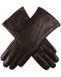 Dents - Fur Lined Leather Ladies Glove - Lyst